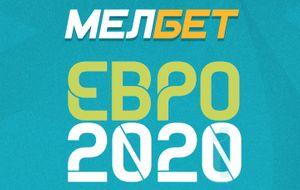 Баннер акции «Евро–2020» в БК «Мелбет»