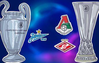 Российские клубы в еврокубках