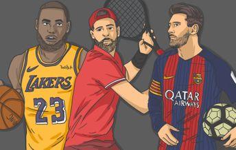 Коридоры в баскетболе, футболе и теннисе
