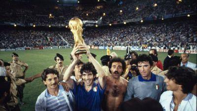Сборная Италии Чемпион мира по футболу 1982