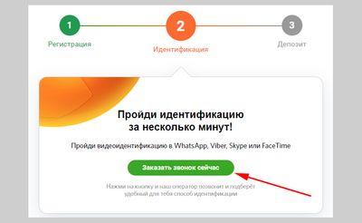 Скриншот заказа обратного звонка