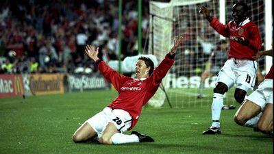 Гол Сульшера в матче против Баварии в 1999 году
