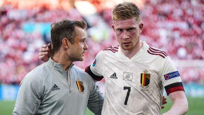Кевин Де Брейне Дания - Бельгия Евро 2020
