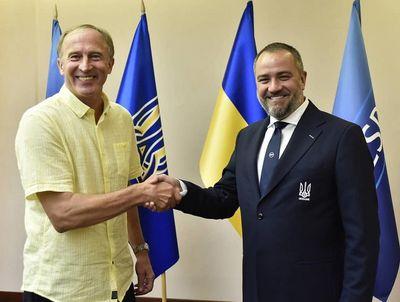Александр Петраков и Андрей Павелко