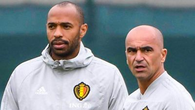 Тьерри Анри Роберто Мартинес Бельгия Евро 2020