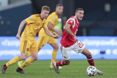 Россия - Бельгия отбор Евро 2020