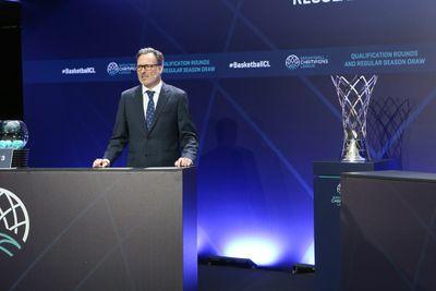 Патрик Комнинос и трофей Лиги чемпионов ФИБА