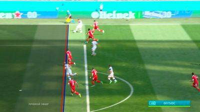 Отмененный после просмотра VAR гол Финляндии в матче против России