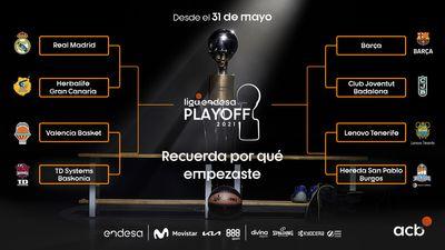 Сетка плей-офф чемпионата Испании по баскетболу