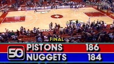 Матч «Детройт Пистонс» – «Денвер Наггетс»