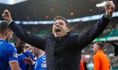 Стивен Джерард выиграл шотландский Премьершип