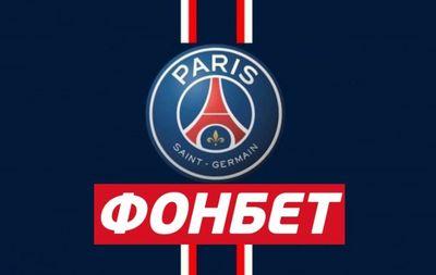 Логотипы «Фонбет» и ПСЖ