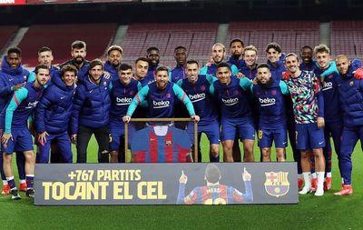 768 матчей Месси в Барселоне