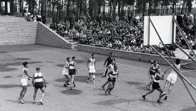 История баскетбола на Олимпийских играх
