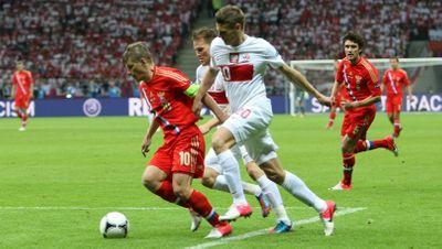 Польша - Россия Евро 2012