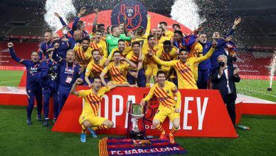 Барселона Кубок Испании 2020/21
