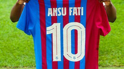 Футболка Ансу Фати