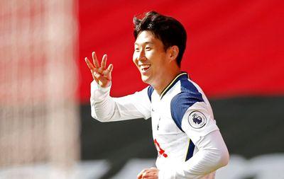 Сон Хын Мин забил четыре гола Саутгемптону
