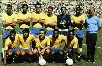 Сборная Бразилии Чемпион мира по футболу 1970