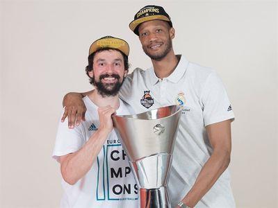 Баскетболисты Реала Рэндольф и Льюль