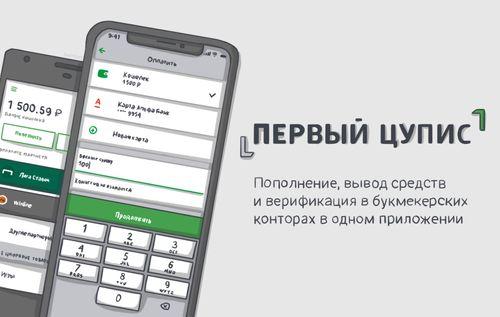 Интерфейс Первого ЦУПИС