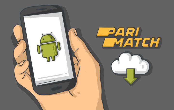 Приложение Париматч для Андроид