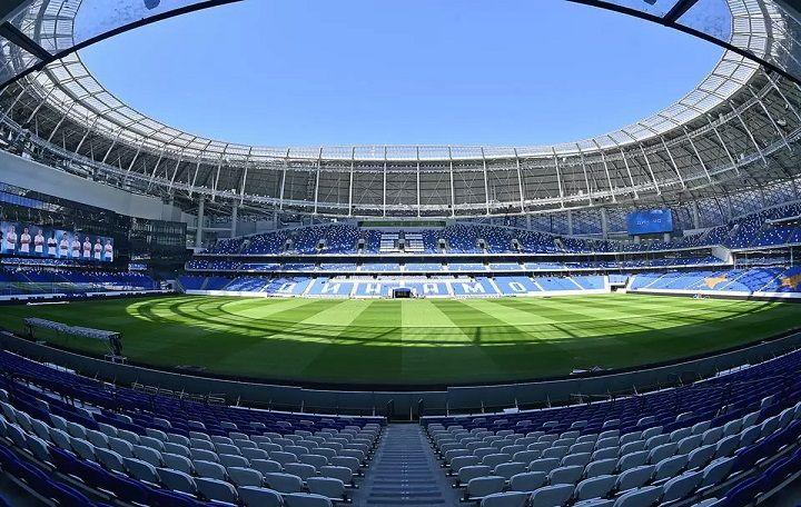 ВТБ Арена вмещает более 25 тысяч зрителей