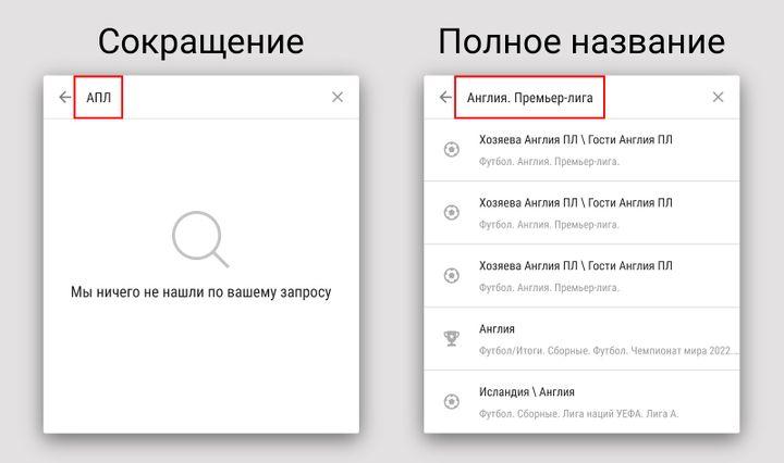 Функции приложения Париматч для Android